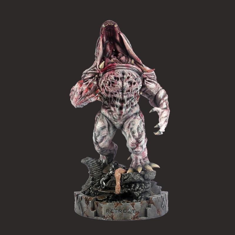 定制树脂怪物雕像