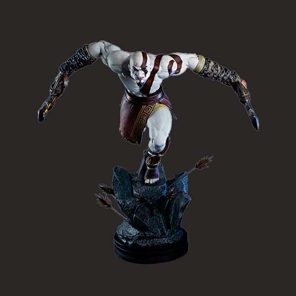 定制的游戏角色树脂雕塑