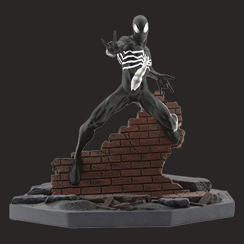 BAIT x Marvel黑色蜘蛛侠雕像