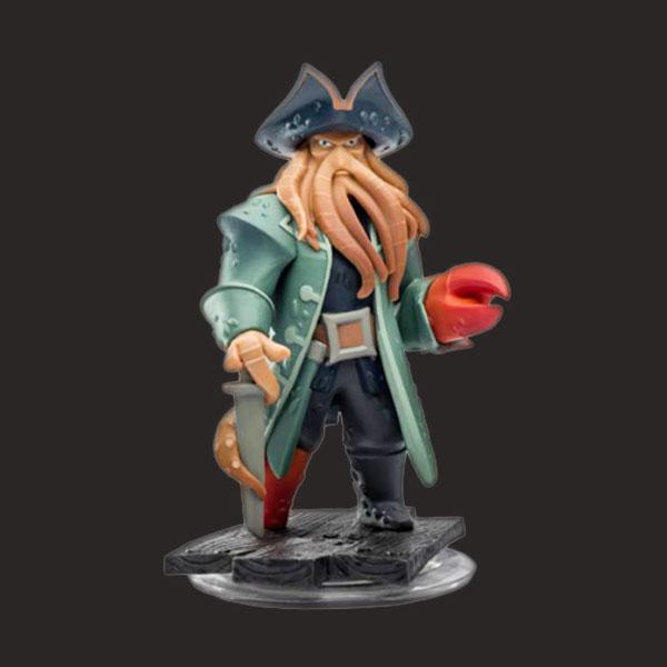 戴维琼斯加勒比海盗雕像