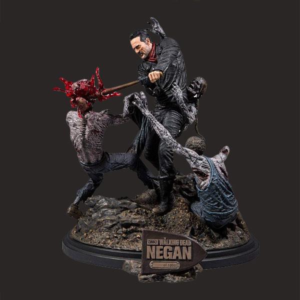行尸走肉限量版Negan树脂雕像