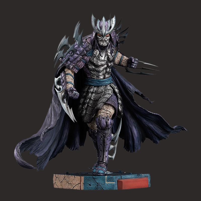 游戏人物树脂黑暗猎人雕像