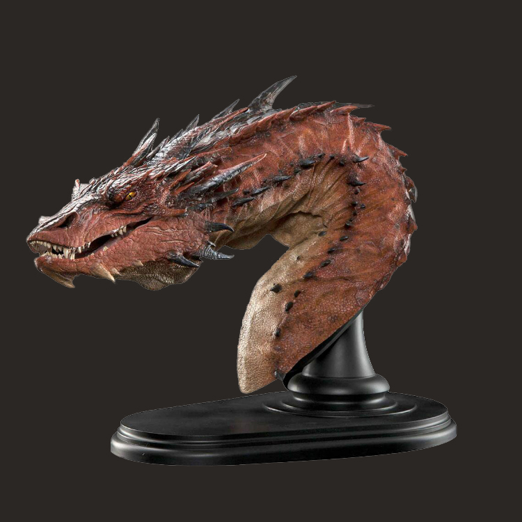 定制影视龙头半身树脂雕像